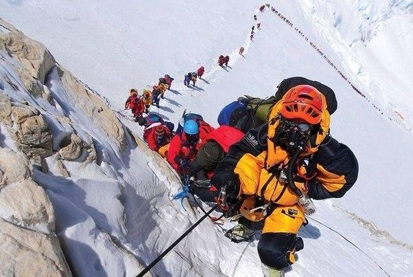 Sherpa leading people