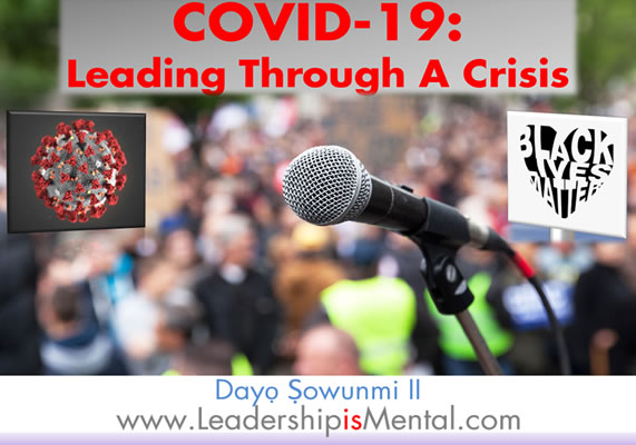 Covid leading through a crisis slider